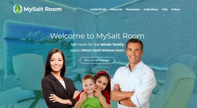 MySalt Room - лэндинг солевой комнаты